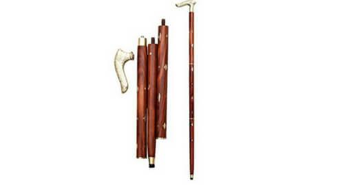 bastones de madera artesanales