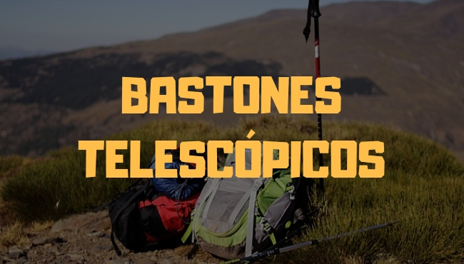 bastones telescópicos
