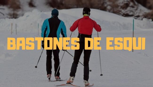 como elegir talla de bastones de esqui