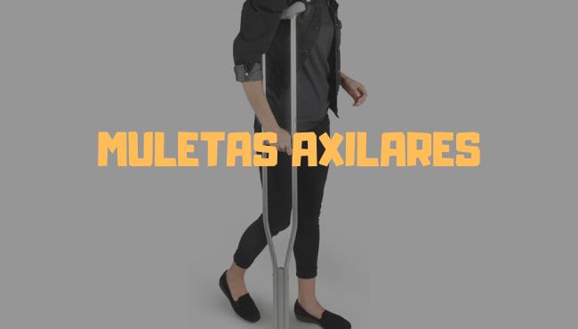 muletas axilares precio